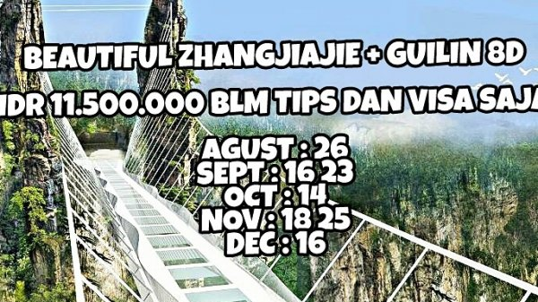 BEAUTIFUL ZHANGJIAJIE + GUILIN 8D