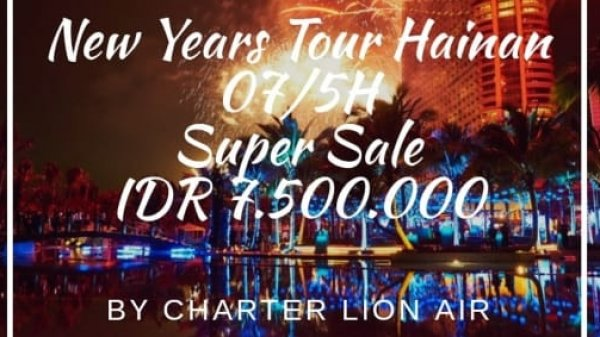 7D HAINAN SUPER SALE